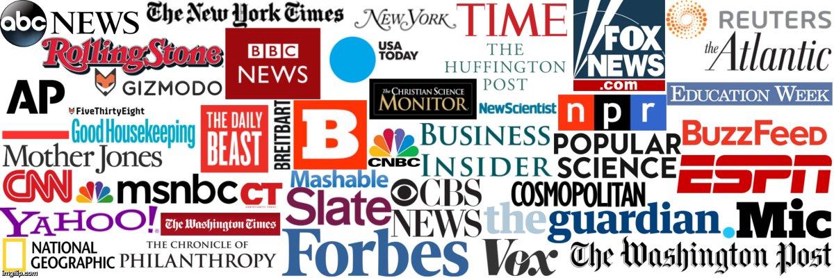MAINSTREAM MEDIA TO STANDARDISE FAKE NEWS - Rhubba Dot ...