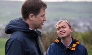 Farron: Knitted brows, gurning, caring.